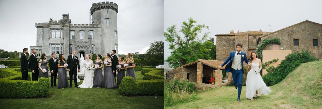 matrimonio in un castello o in un maniero